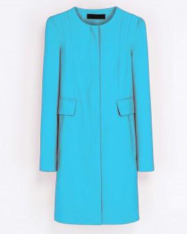 Faux Fur Coat In Shaggy Longhai