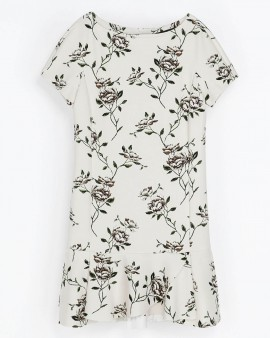 Amelia Rose Allover Maxi Dress
